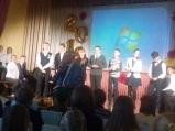 Поздравления конкурса знатоков. Кузнецов Федор 2-й слева